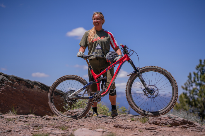 US National Champion Amy Morrison with her Fuji Auric LT
